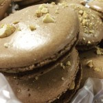 CHOCOLATEPEANUT BUTTER MACARONS Available NOW in the Bakery