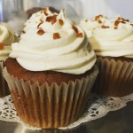 PUMPKIN CUPCAKES w MAPLE FROSTING Available NOW in the Bakeryhellip