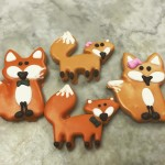 FOX FAMILY GLAZED SHORTBREAD COOKIES Available NOW in the Bakeryhellip