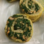 PALEO ALERTSPINACH  SALMON BAKED OMELETTE ROLL also LOW CARBhellip