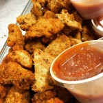 paleo ZESTY CHICKEN BITES w HOUSEMADE MARINARA SAUCE Available NOWhellip