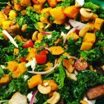 ANOTHER Amazing SALAD CRUNCHY FALL CASHEW  KALE SALAD Availablehellip