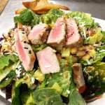 SALAD OF THE WEEK ASIAN PINEAPPLE SALAD with SESAME TUNAhellip