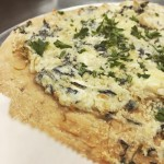 SPINACH  ARTICHOKE PERSONAL PIZZAS Available NOW in the Takehellip