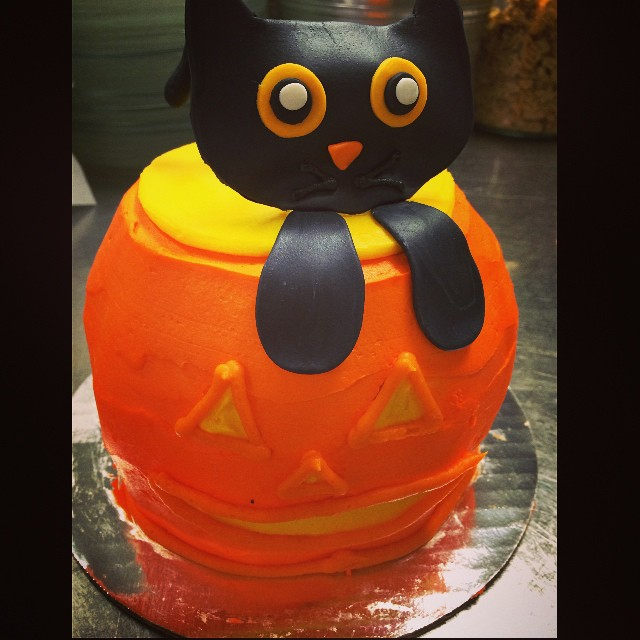 THINGS ARE GETTING SPOOKY AROUND HERE: Festive Halloween Cakes:: *Available NOW in the Bakery or you can place a custom order with Jordan, our pastry chef, by calling 685-1100