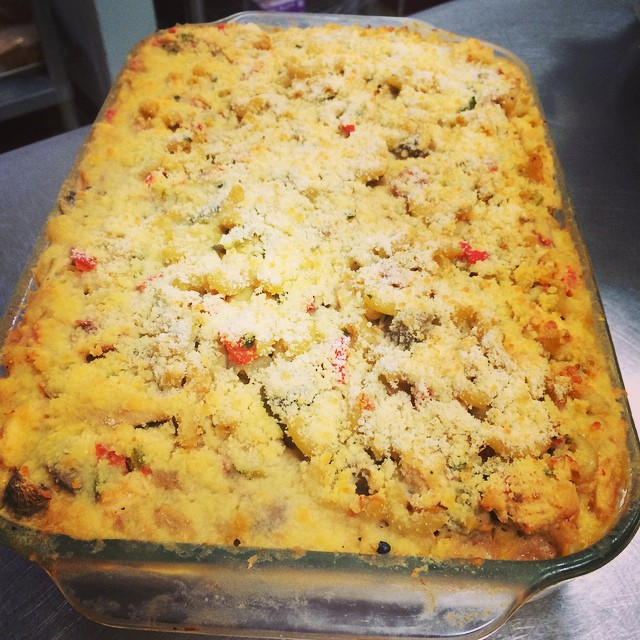 UPTOWN MACARONI + CHEESE w/ CHICKEN:: *Available NOW in the Take Away Market