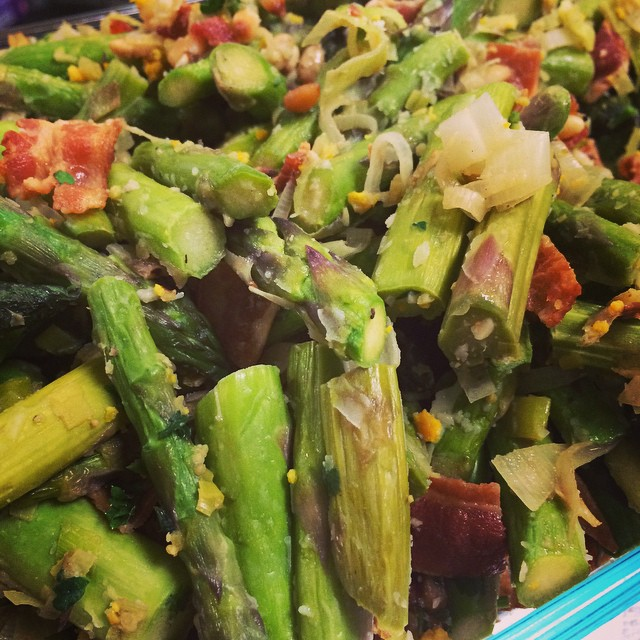 INSTANTLY ADDICTIVE:: SAUTÉED ASPARAGUS w/GREMOLATA:: *Available NOW In The Take Away Market