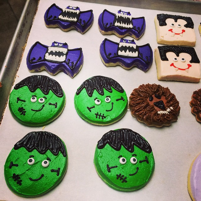FROSTED FREAKY FACES COOKIES:: *Available NOW in the Bakery, and for order for Halloween:: call 685-1100 to place your order now