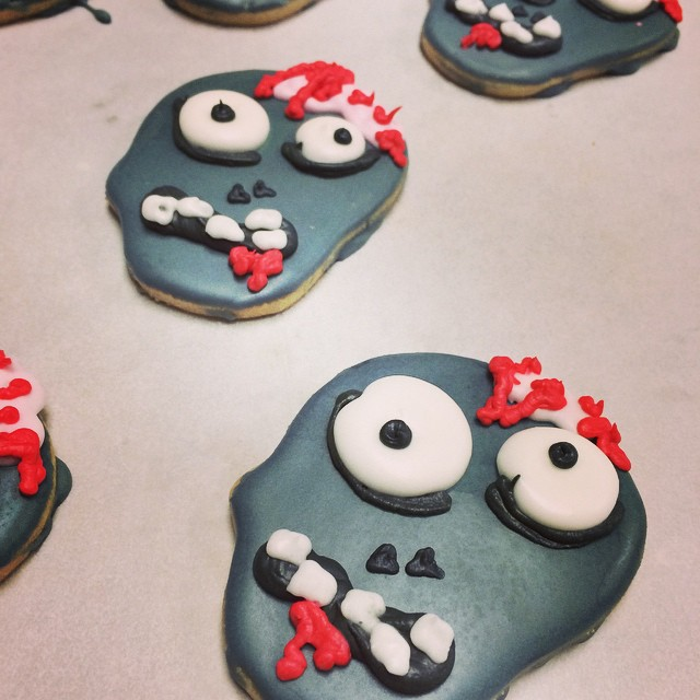 HALLOWEEN COOKIES:: *so cute + tasty! Available in the Bakery