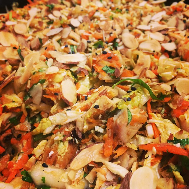 GRILLED GINGER-SESAME CHICKEN SALAD:: *Available ALL WEEK in the Take Away Market