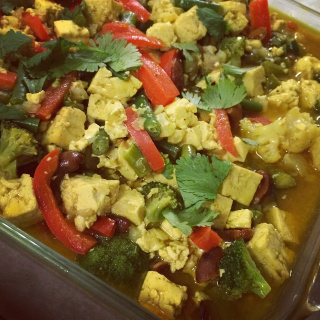 CASHEW-COCONUT CURRY w/ TOFU:: *Available NOW in the Take Away Market