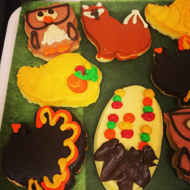 THANKSGIVING FROSTED COOKIES:: *Available *first come first serve* In The Bakery