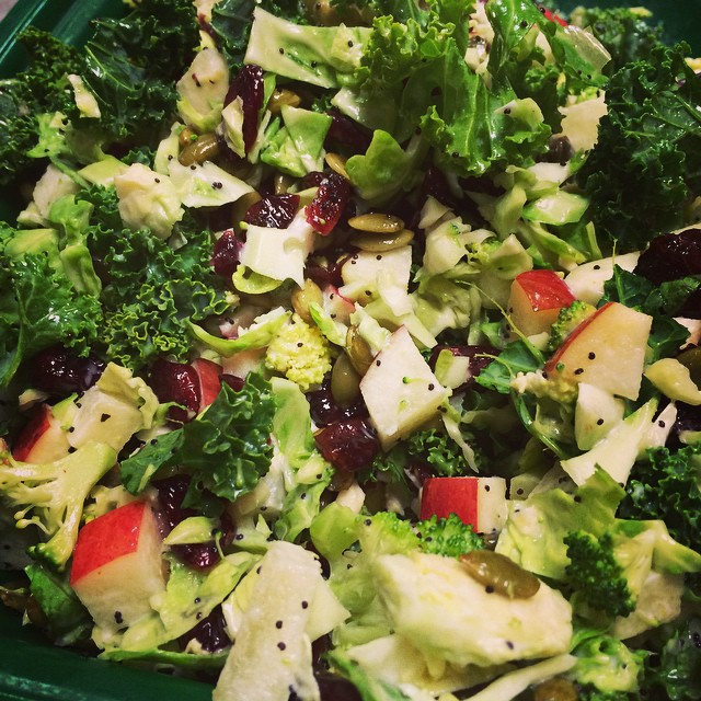 FALL KALE SUPER SALAD:: *Available ALL WEEK in the Take Away Market