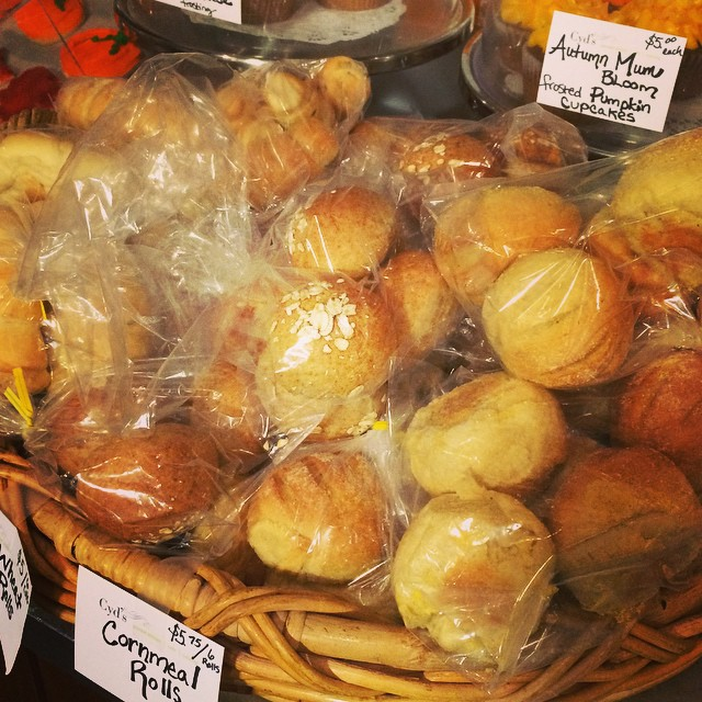 Fresh HOLIDAY ROLLS:: available now in the Take Away Market