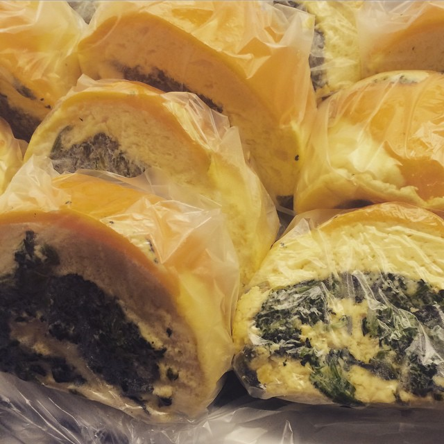 SPINACH STUFFED CHEDDAR – SOUFFLÉ ROLL:: *Available NOW in the Take Away Market
