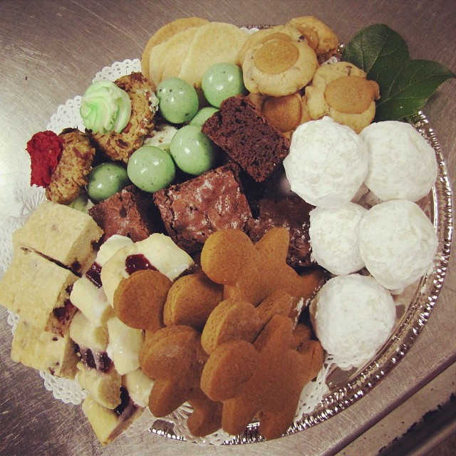 CYD'S HOLIDAY COOKIE TRAYS:: *Available on small serving trays, always loaded with your favorite made-from-scratch Holiday Cookies + Treats, it's a great way to Celebrate the Season! Call 685-1100 to order