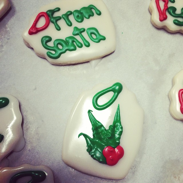 MORE ADORABLE HOLIDAY COOKIES:: *Available in the Bakery